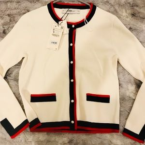Zara Knit Sweater Small NEW